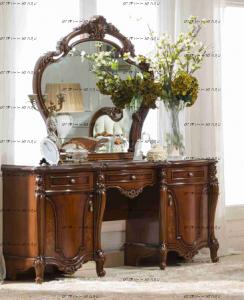 Стол туалетный с зеркалом Тиффани Диа Мебель