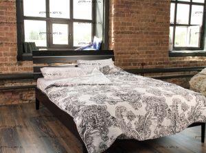 Кровать Лацио 1 Массив DreamLine