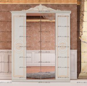 Шкаф 4-х дверный Версаль Диа Мебель (235*62*190)