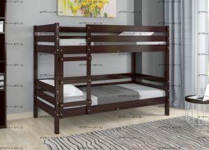 Кровать двухъярусная Ультра (Соня) БТС массив (90х200)