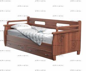 Кровать Оттомано Дуо (Тахта 2) Массив DreamExpert