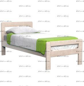 Кровать Кредо Массив DreamLine