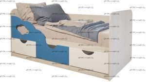 Кровать Минима Скай МДФ (80х160)