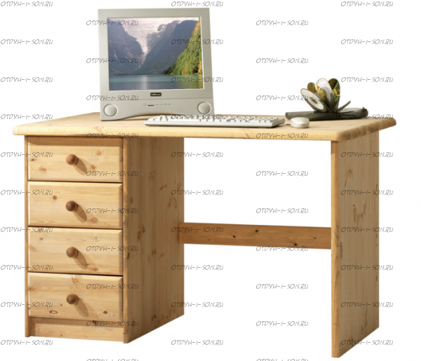 Стол письменный №6 массив