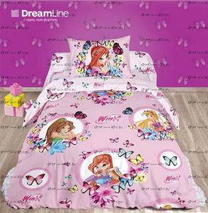 Постельное белье Winx Поплин DreamLine
