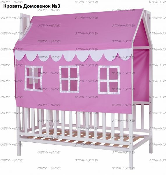 Кровать Домовенок 3