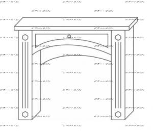 Стол туалетный Патиния, мод. 41 МДФ