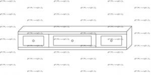 Надстройка к столу туалетному Патиния, мод. 45 МДФ