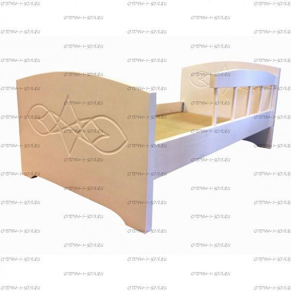 Кровать Жанна с бортиком (ВМК Шале)