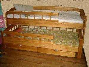 Кровать двухъярусная Скаут-3