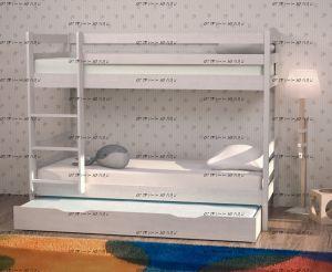 Кровать двухъярусная Кадет-2 (ВМК Шале)
