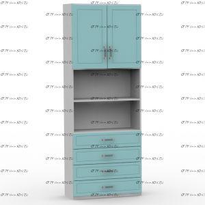 Шкаф 2-дверный Teen`s Home 2 / Lite