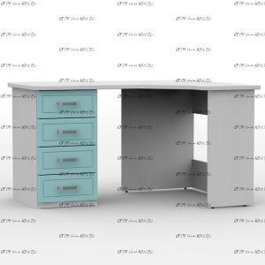 Стол письменный угловой правый/левый 1360 Teen`s Home 2 / Lite